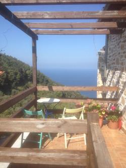 Sea View from entrance balcony
