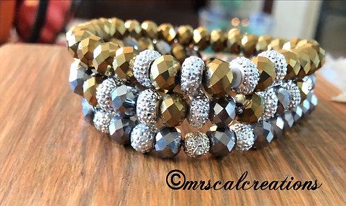 Trio Stack Bracelets