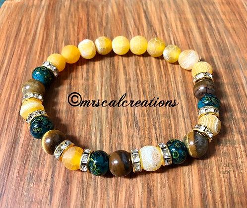 Autumn Colors Stretch Bracelet