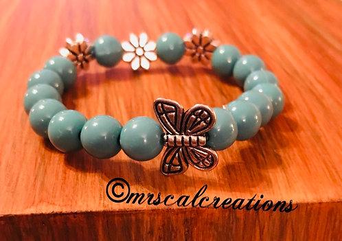 Kids  Butterfly Bracelet