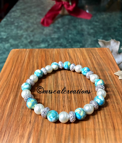Ice Blue Princess Bracelet