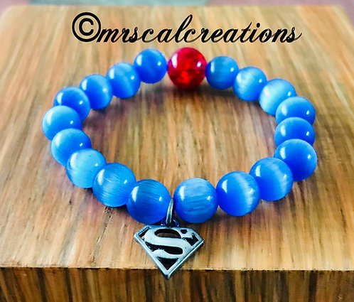 Superman Inspired Bracelet