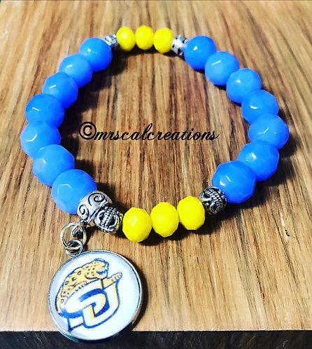 Southern University Inspired Bracelet
