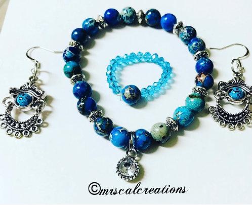 Blue Jasper Set