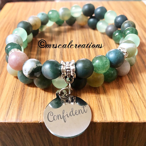 Confident Stack bracelets