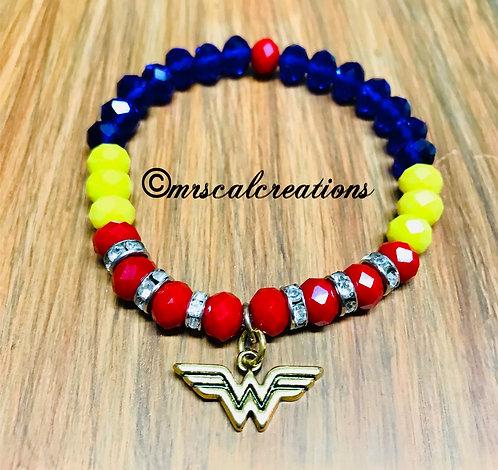 Wonder Wonan Inspired Hero Bracelet