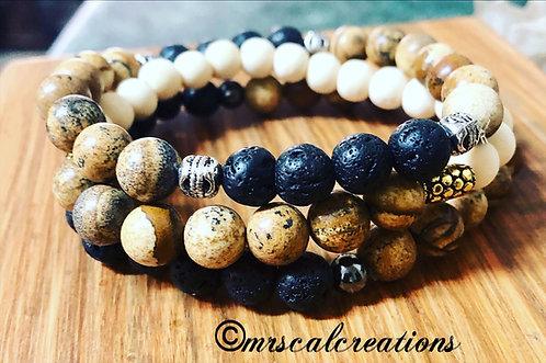 Mrscalcreations Stack Bracelets