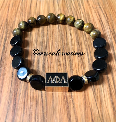 Alpha Phi Alpha Inspired Bracelet