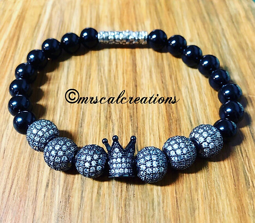 Men's Crown  Bracelet