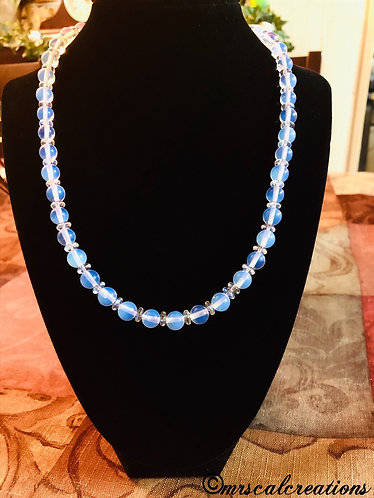 Moonstone Opal Necklace