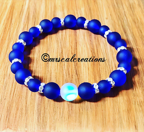 Midnight Blue Moon Bracelet