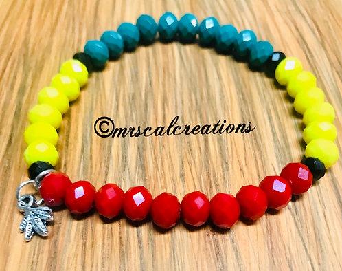 Rasta Reggae Bracelet