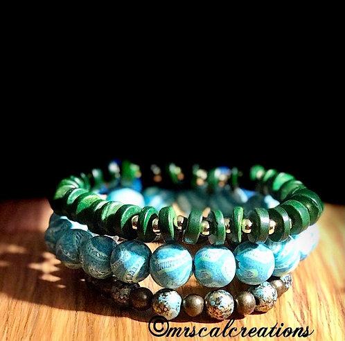 Boho Style Stack Bracelets