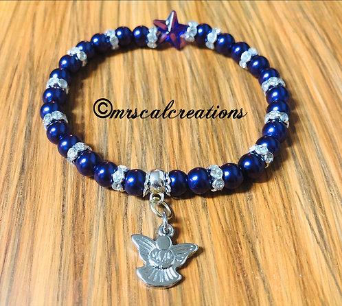 Purple Angel Bracelet