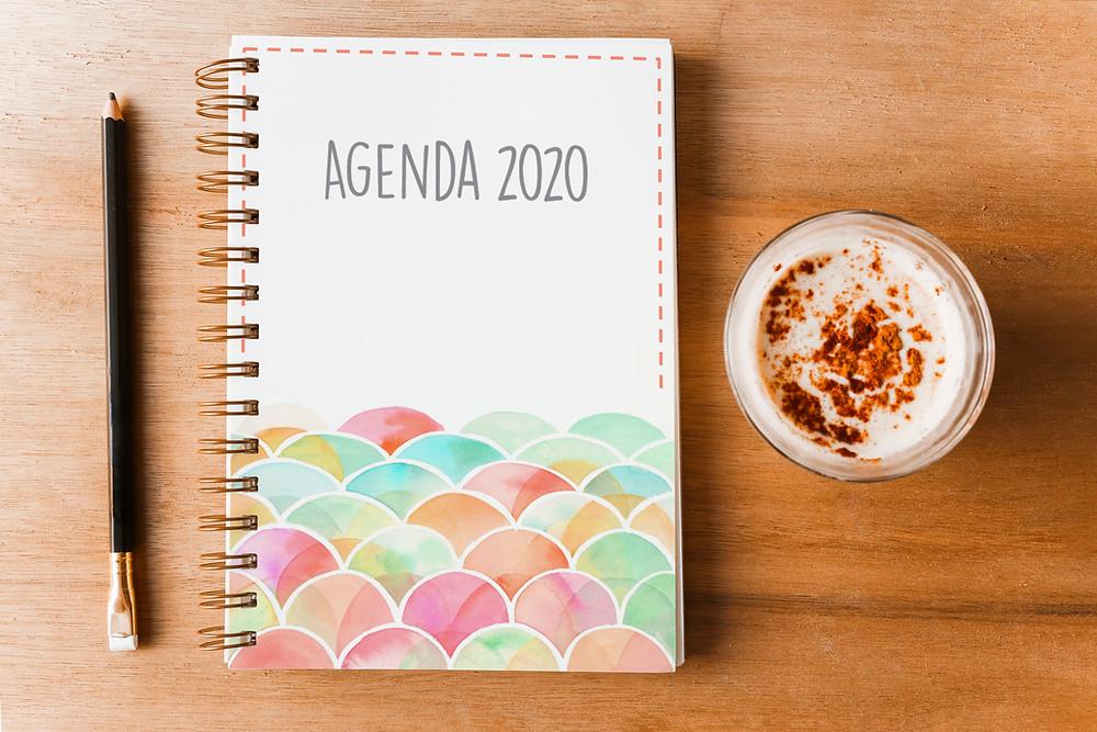 agendas imprimibles 2020
