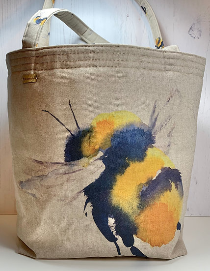 Padded Project Bag - Busy Bee