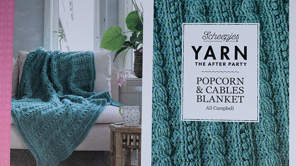 YARN The After Party - Popcorn & Cables Blanket