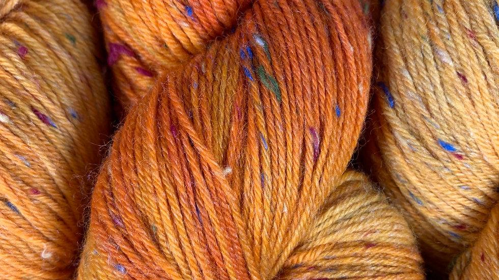 Donegal 4ply - Sunburst Orange