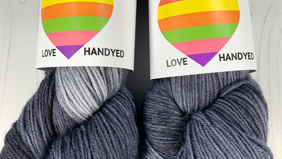 4ply Sock Yarn -  50 Shades of Black
