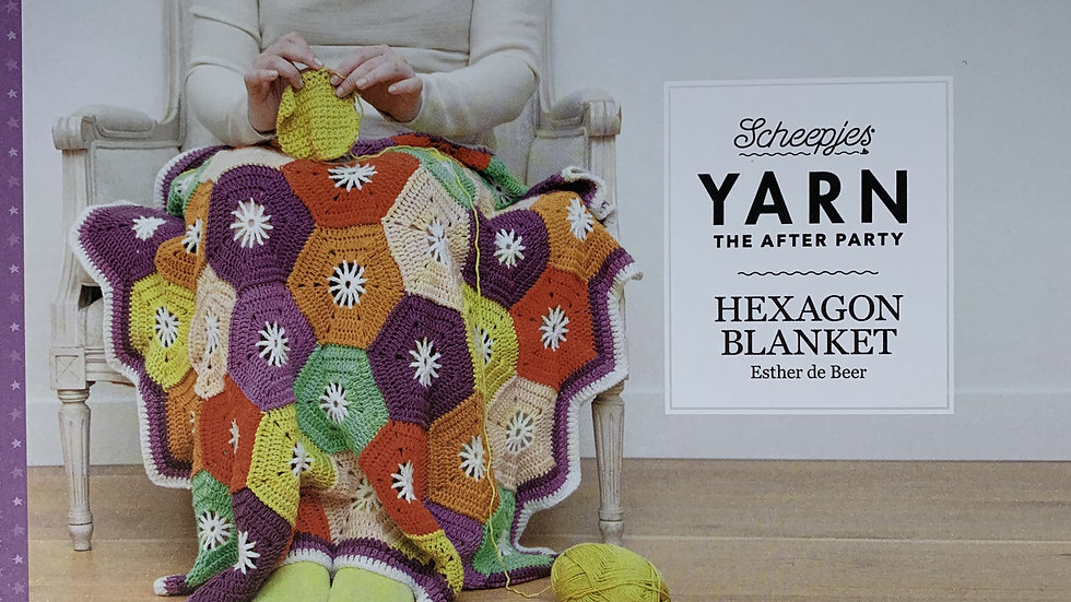 YARN The After Party - Hexagon Blanket