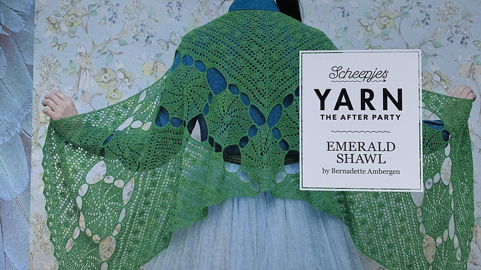 YARN The After Party - Emerald Shawl
