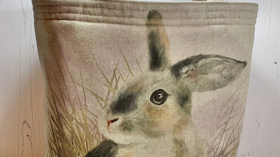 Padded Project Bag - Dusky Rabbit