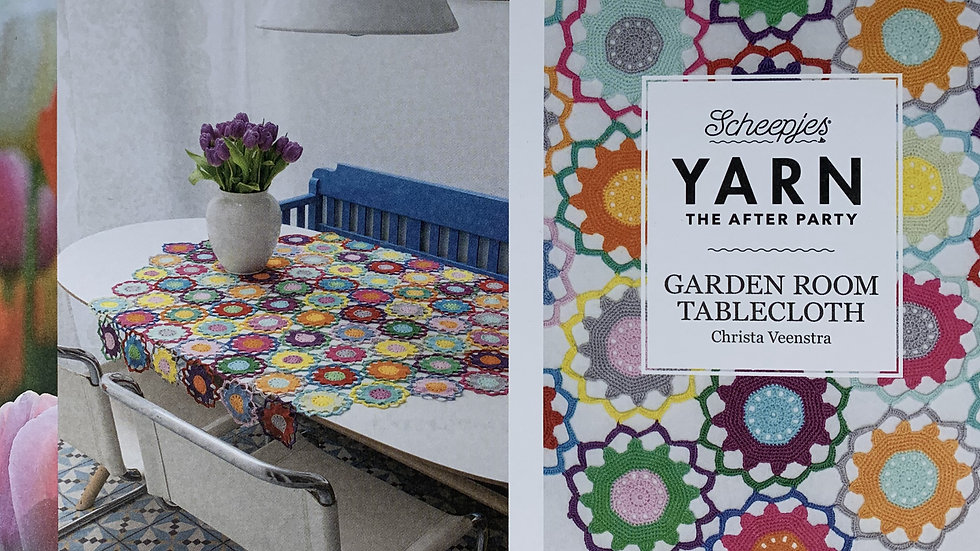 YARN The After Party - Garden Room Tablecloth