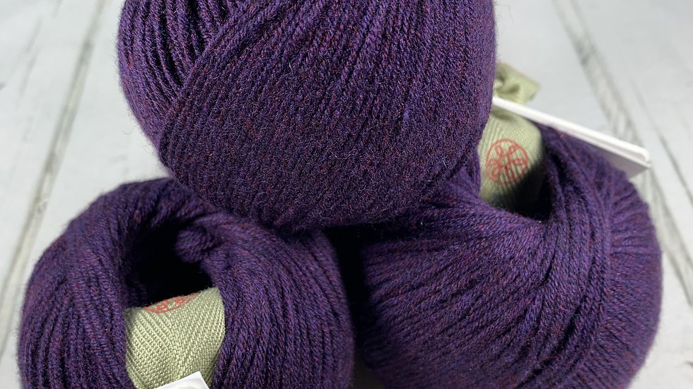 KPC Yarns Glencoul 4ply - Purple Wine