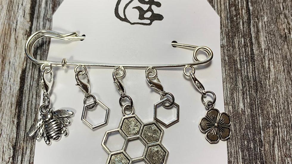 Stitch Markers - Bee Motifs
