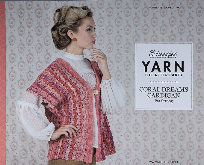 YARN The After Party - Coral Dreams Cardigan