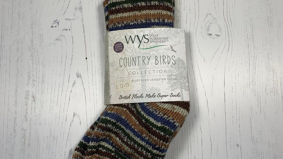 WYS Socks - Mallard - UK Size 3-5