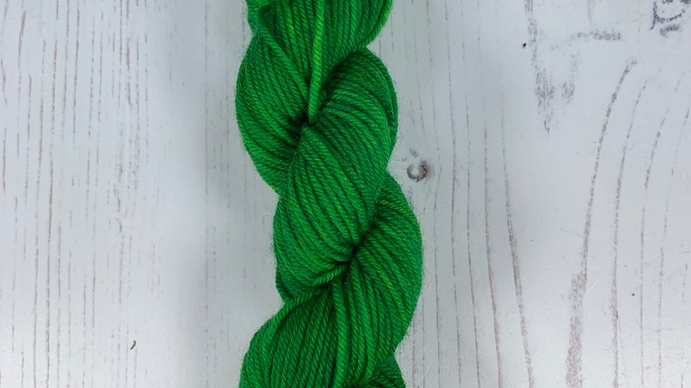 Mini Skein - Kiwi Green