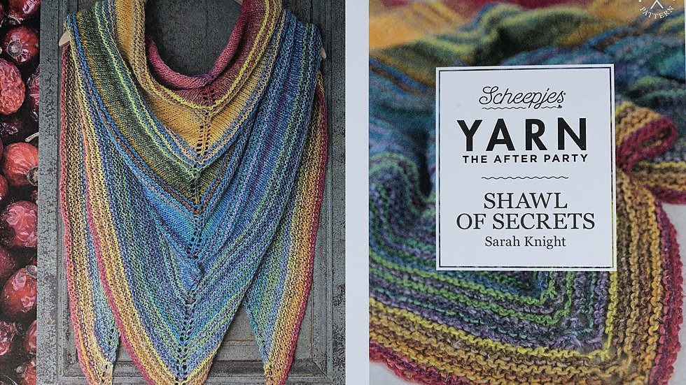 YARN The After Party - Shawl of Secrets