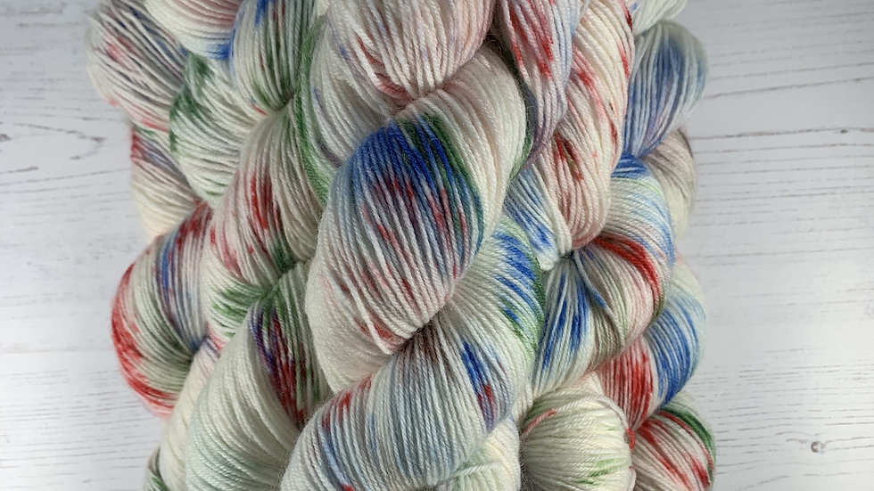 100g Hand Dyed 4ply Yarn - Pollack's Return