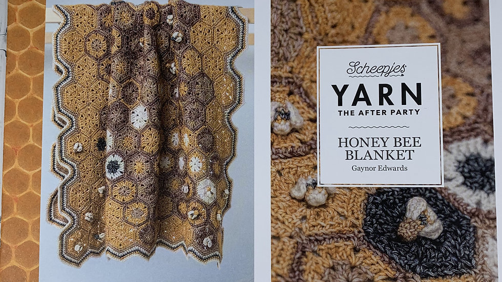YARN The After Party - Honey Bee Blanket