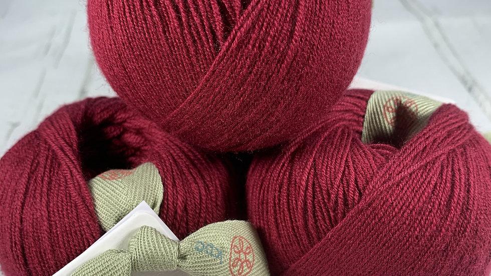 KPC Yarns Glencoul 4ply - Ruby