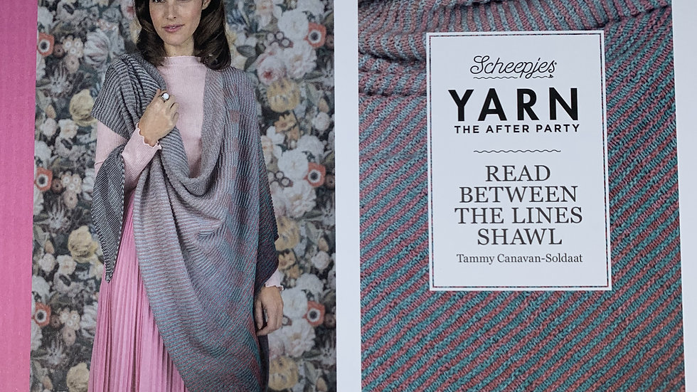 YARN The After Party - Read Between The Lines Shawl