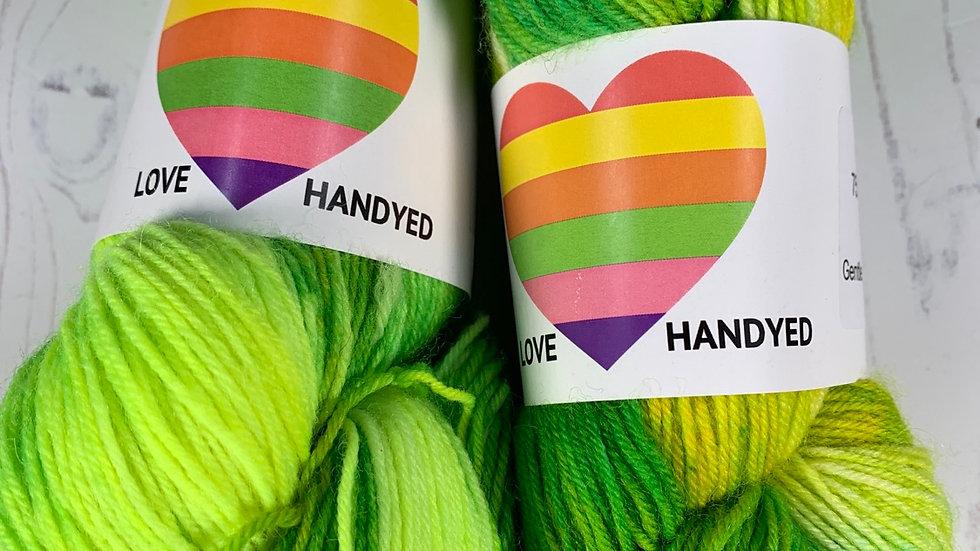 4ply Sock Yarn -  Lime & Lemon