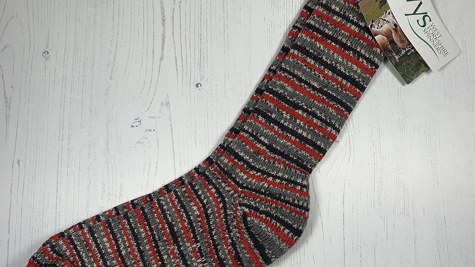 WYS Socks - Bullfinch - UK Size 12