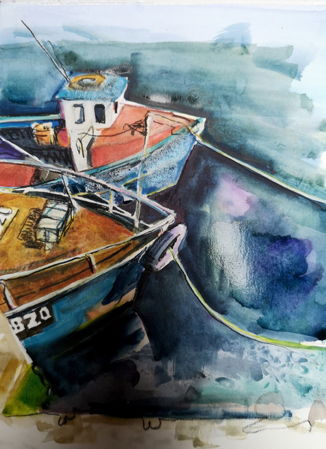 Fishing Boats, Girvan