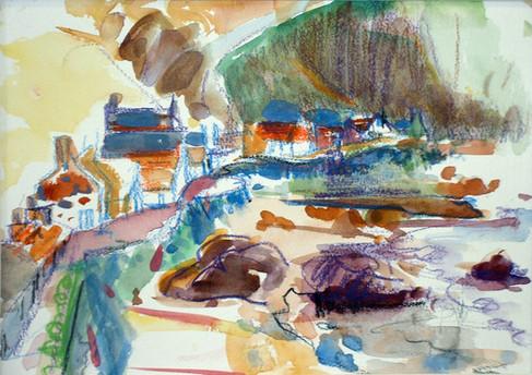 Gardenstown painting