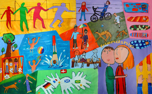 Friendship mural