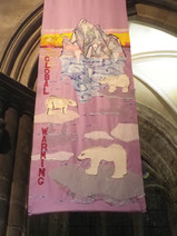 Captain Noah and his floating zoo. Paisley Abbey