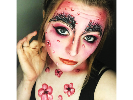 Local Award-Winning Visual Artist/Body Painter Helps Apple Blossom