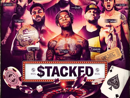 """Wrestler, LIO RUSH set to wrestle at the VIP Live Professional Wrestling Match """"STACKED"""" in Dallas"""