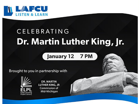 LAFCU presents virtual MLK celebration for kids Jan. 12