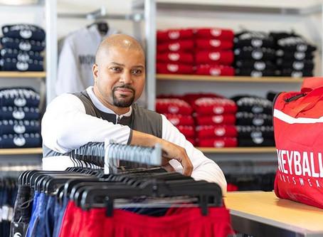 Desmond Ferguson of Moneyball Sportswear-A Man with a Plan