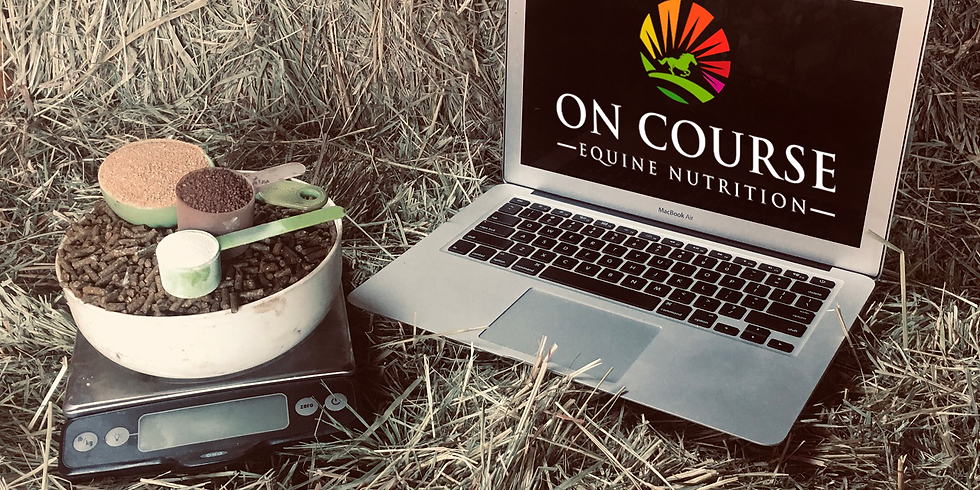 -MAY 2021- On Course Equine Nutrition Educational Webinar Series (1)