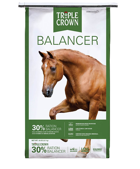 Triple Crown 30% Balancer (prices vary locally)
