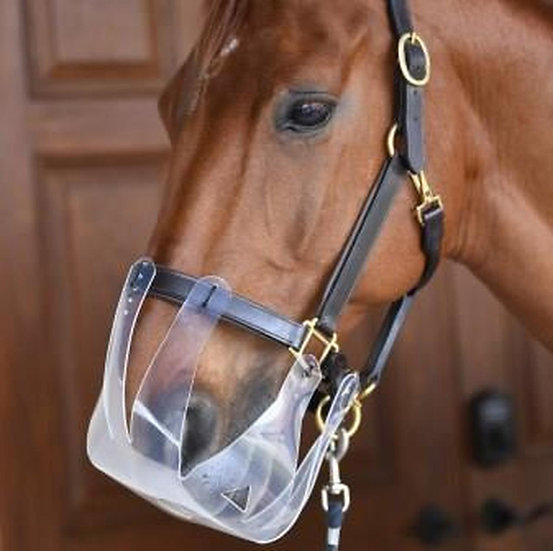 Flexible Filly Grazing Muzzle